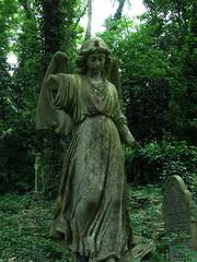 Sad broken angel