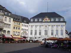 Auf dem Marktplatz von Bonn