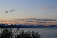 dusk (montague harbour marine provincial park)
