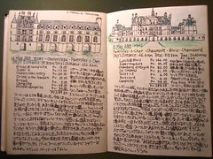 Pages from my travel journal (noriko.stardust) Tags: world trip travel france art bicycle architecture illustration painting french japanese sketch paint drawing diary journal illustrations blogger sketchbook journey chambord chateau visual loire 旅行 loirevalley 城 chenonceau architectual フランス 日記 アート 旅 journaling traveldiary japanesewriting ドローイング traveljournal 絵日記 日誌 旅行記 japanesehandwriting ジャーナル シュノンソー城 シャンボール城 traveldrawing ロワール河 yolanoriko