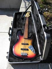Jaco Pastorius Artist Series Fender Jazz Fretless Bass