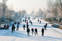 090110Molentocht9357 (richardvanhoek) Tags: nederland molentocht ijs schaatsen vorst winterweer vriezen schaatstocht winterijspret