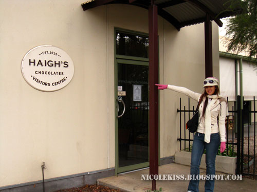 visit to haigh's chocolate factory