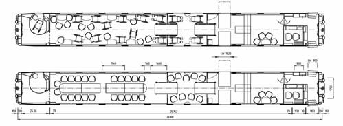 Train Chartering - Swiss rail SBB Meeting car plan
