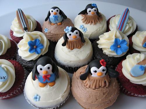 More Penguin Cupcakes!