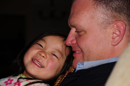 Ro and daddy, so sweet