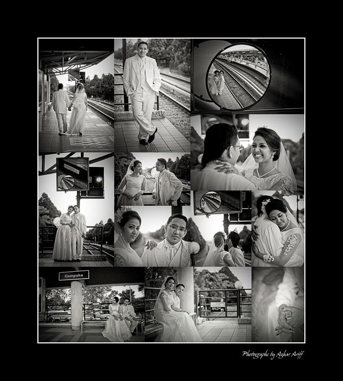 Image:black & white montage
