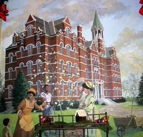 Opryland Ballroom Mural 1: Jubilee Hall