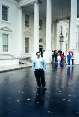 My first day at the White House. (11/03/1998)