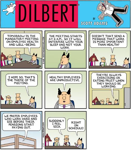 Dilbert Health