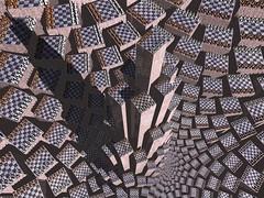 trabzon (fdecomite) Tags: castle spiral render chess fibonacci doyle chessboard povray