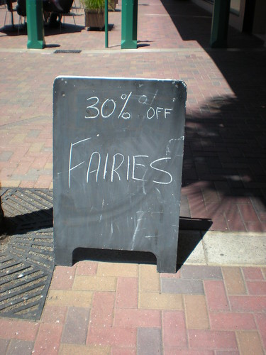 17.1.09 30% off fairies. Saweet.