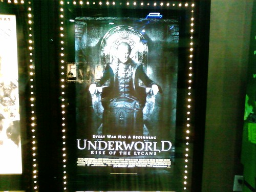 Adam (@bucafett) and i going to see Underworld