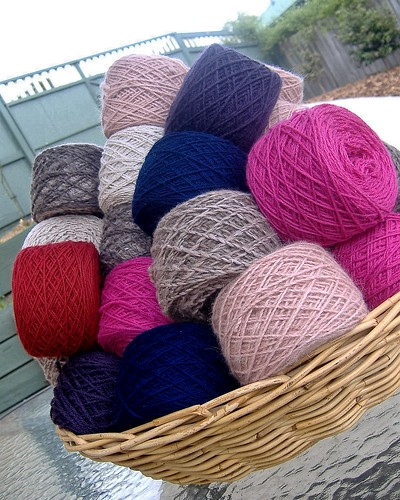 more reclaimed yarn - january