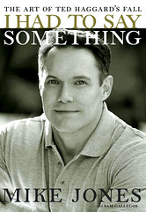 "Mike Jones and his book ""I Had to Say Something"""