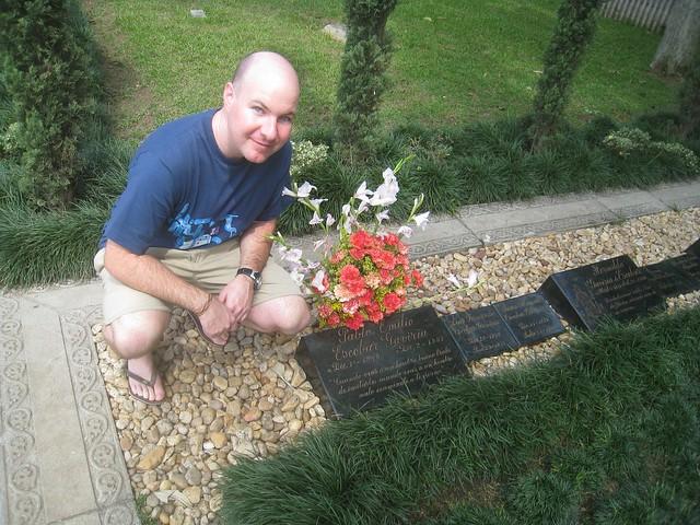 Pablo Escobar's family grave in Itagui
