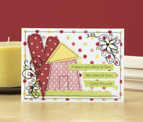 Where He Lives Card by Shanna Vineyard