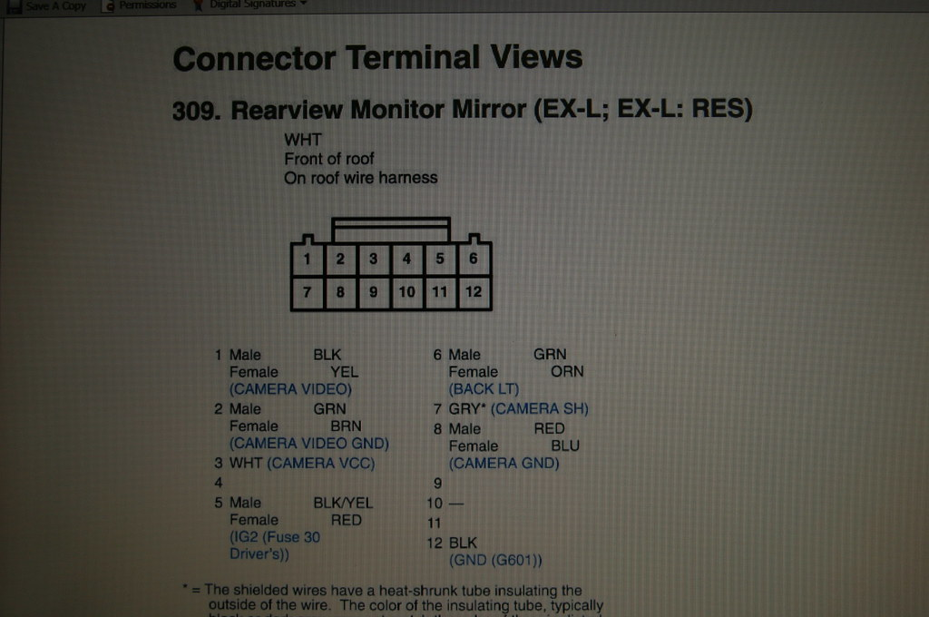 Routing Stock Backup Camera Image To Aftermarket Nav Display