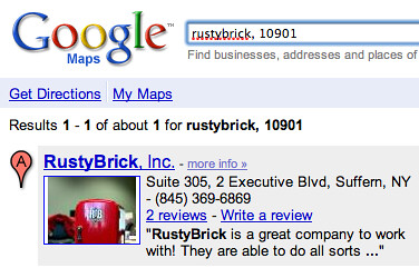 Google Local Business Picture