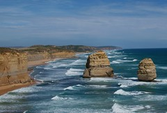 12 apostle (eastward view from lookout point) (pipeguru) Tags: ocean road game great thumbsup challengeyouwinner pfogold pfosilver beautifulworldchallenges thumbsupwinner herowinner ultraherowinner