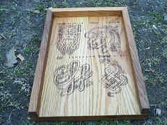 Celtic Rune Casting Board (dragonoak) Tags: nordic celtic viking runes futhark asatru diviniation castingboard