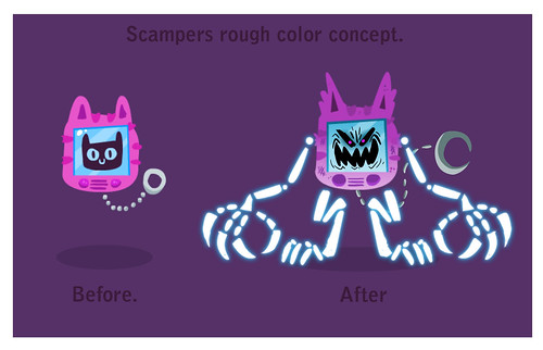 Scampers Color Ruff