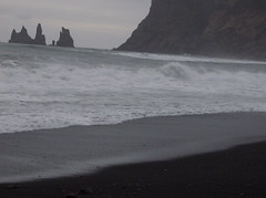 iszq (smadventure) Tags: ocean mountain mountains blacksand iceland waves falls atlantic vik glacier waterfalls volcanic atlanticocean blacksandbeach