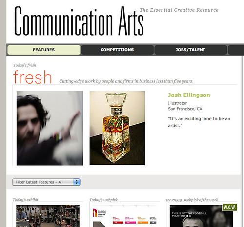 I'm Fresh on Communication Arts