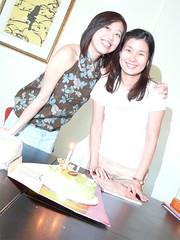 Me & Hooi Ping - the birthday girls