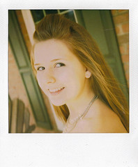 Breezy (mgm photography.) Tags: girl weather polaroid spring model warm slr680 600film hollinmorrison