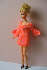 Vintage Barbie (merwinglittle dear) Tags: vintage hair mod 60s barbie era 70s swirl ponytail growing