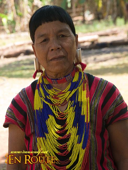 Laven Ethnic Tribe Portrait