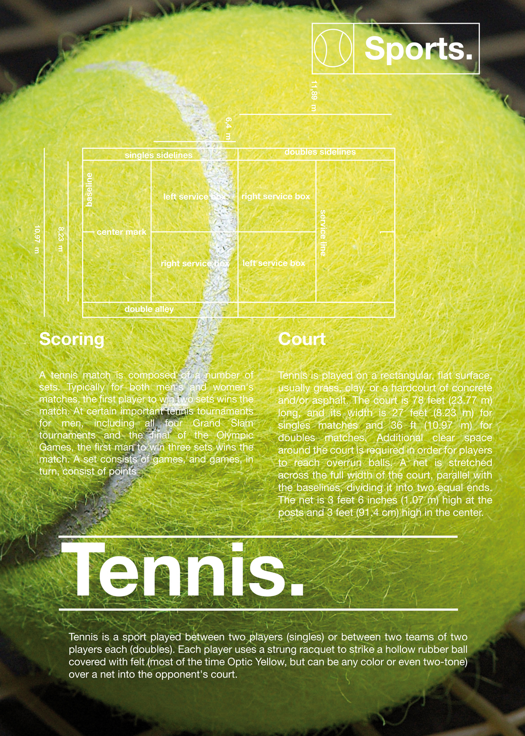 Tennis court / sport project