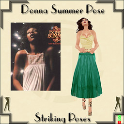 Donna Summer Dollarbie Pose