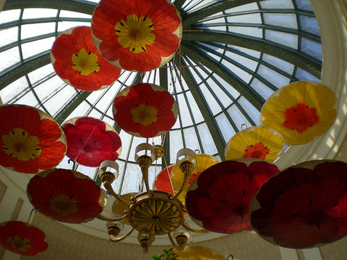 Umbrellas at the Bellagio