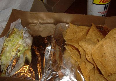 Tito's Tacos - Chips and Taco