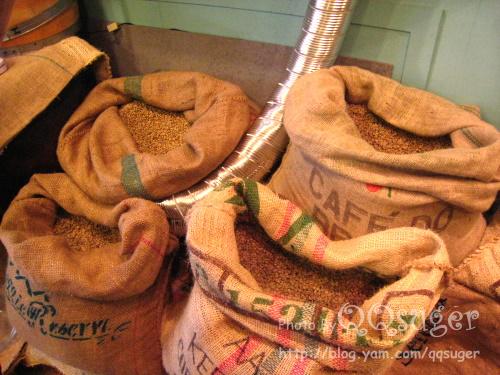 你拍攝的 咖啡豆。
