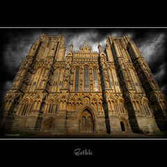 Gothic (Scott Howse) Tags: uk england texture composite architecture cathedral gothic wells somerset hdr specialtouch thedavincitouch theartlair