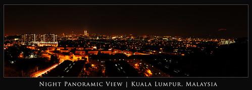 Night Panoramic View | Kuala Lumpur #1