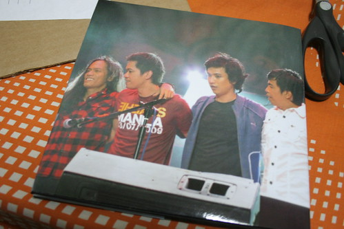 Back of my custom photo book