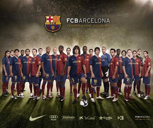 F Barcelona, temporada 2008-2009