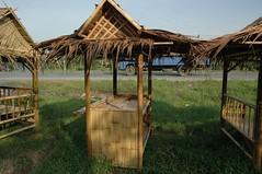 gazebo stall (mrorchidbangi) Tags: gazebo wakaf mrorchid buluh bamboo burger pangkin