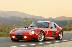 Shelby Daytona Coupe // Le Mans Edition (ColdTrackDays.com) Tags: fast 15 v8 rwd wedgeshape redsportscar v8powered