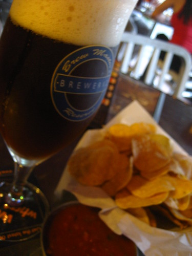 Beer & Nachos at Brewerkz