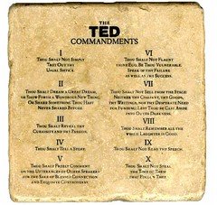 The TED commandments of public speaking