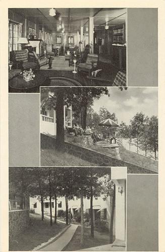 Kirkwood Lodge Vintage Postcard