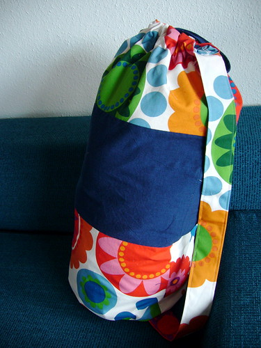 laundry bag.