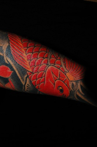 Design and tattoo by Megu, Innervision Sydney. Anyone can see this photo
