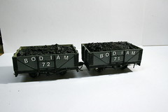"""Bodiam"" private owner coal wagons"