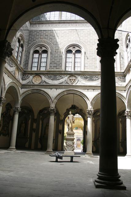 Cortile interno di Palazzo Medici Riccardi